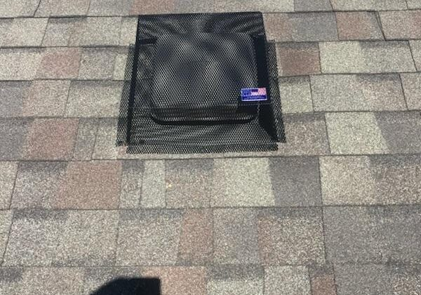 Roof Vent Cover to Keep Wildlife Out